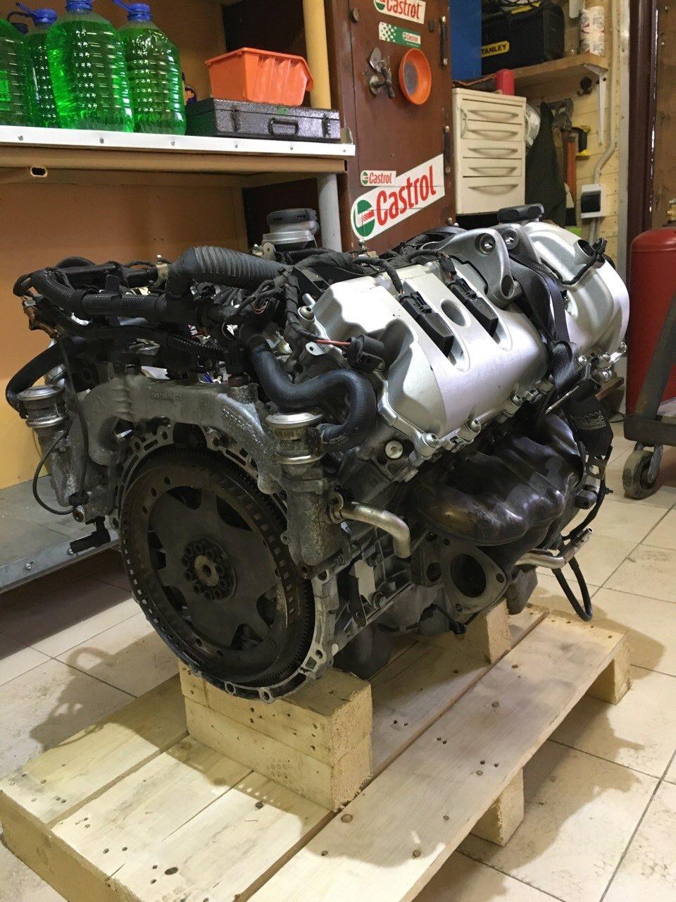 porsche cayenne 4.5 s проблемы с двигателем
